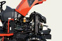Het vermogen van Kioti tractoren